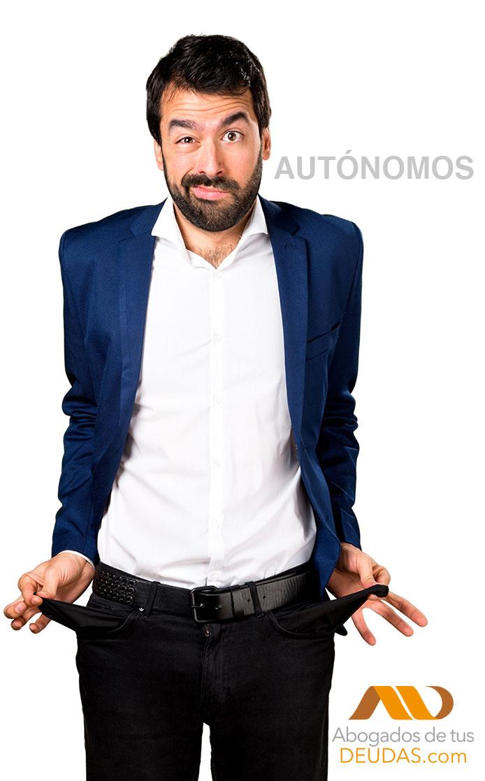 autonomos liberados de deudas