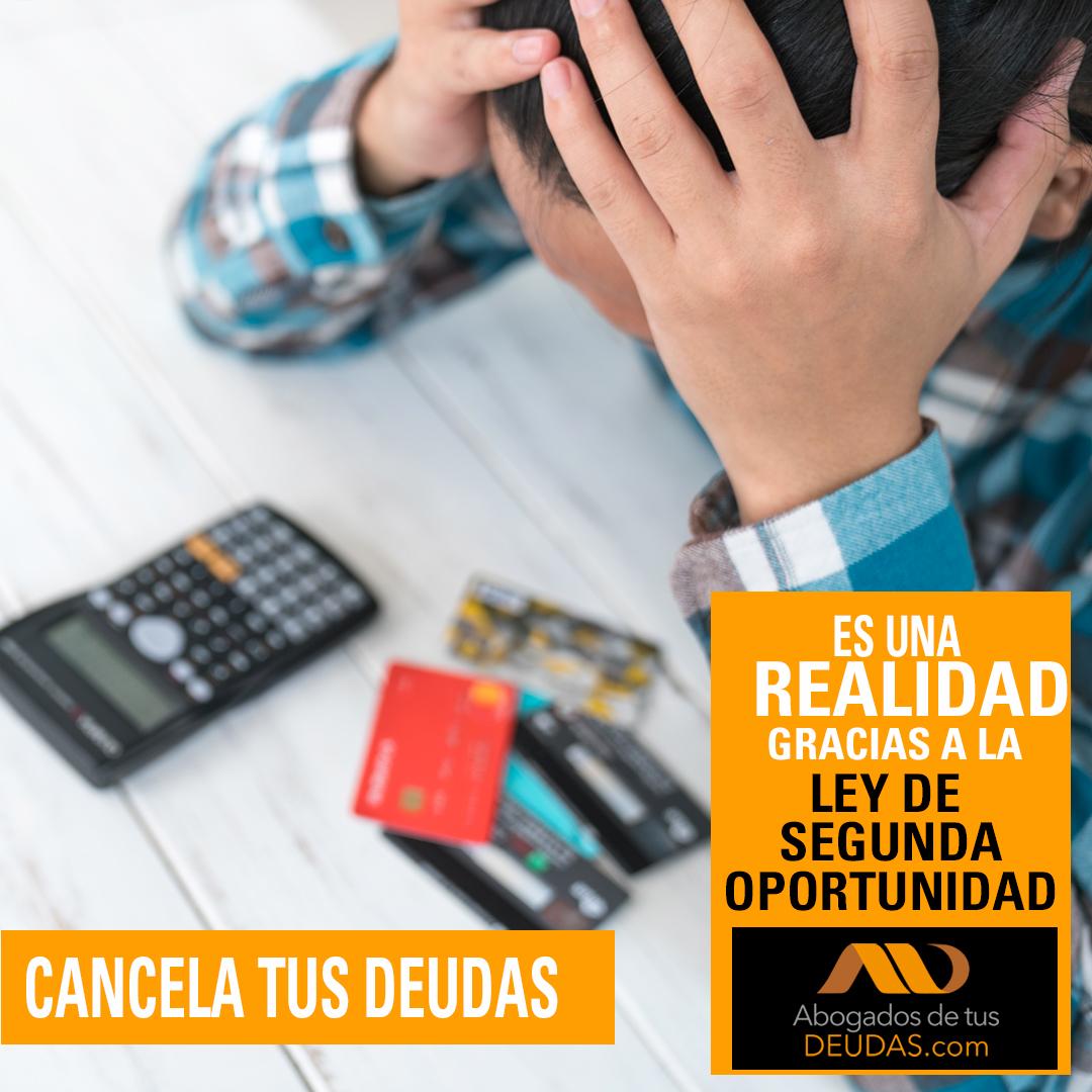 Cancela deudas con Ley de la Segunda Oportunidad