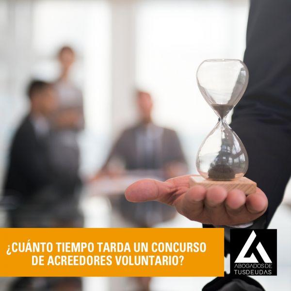 ¿Cuánto tiempo tarda un concurso de acreedores voluntario?