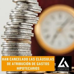 Cancelación cláusulas hipotecarias
