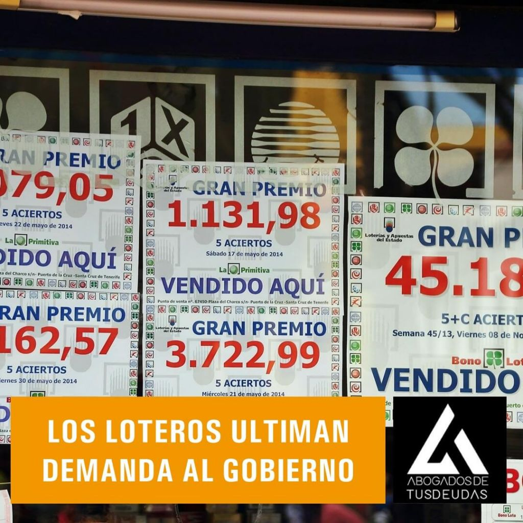 Loteros ultiman demanda al Gobierno