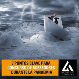 Claves concurso acreedores en la pandemia