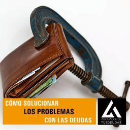 Cómo solucionar los problemas con deudas