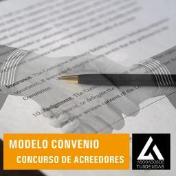 Modelo convenio concurso de acreedores