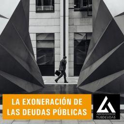 La exoneración de las deudas públicas