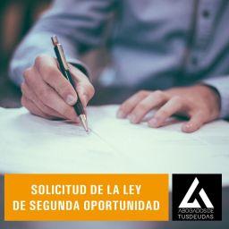 Solicitud de la Ley de Segunda Oportunidad
