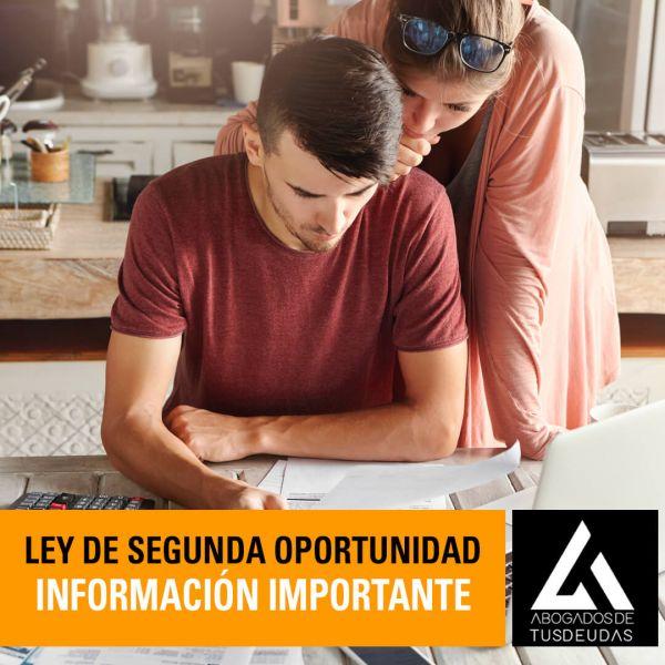 información sobre la ley de segunda oportunidad